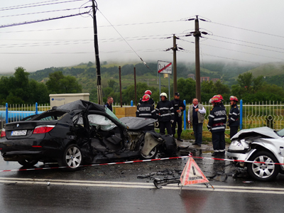 ACCIDENT RUTIER - CLUJ