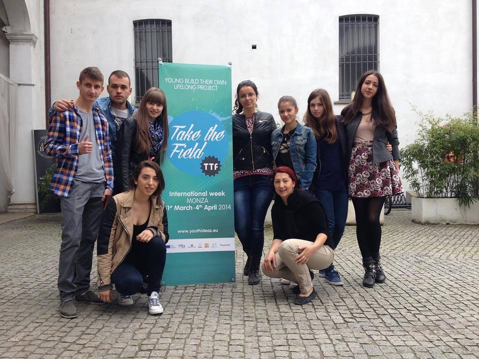 foto proiect take the field italia