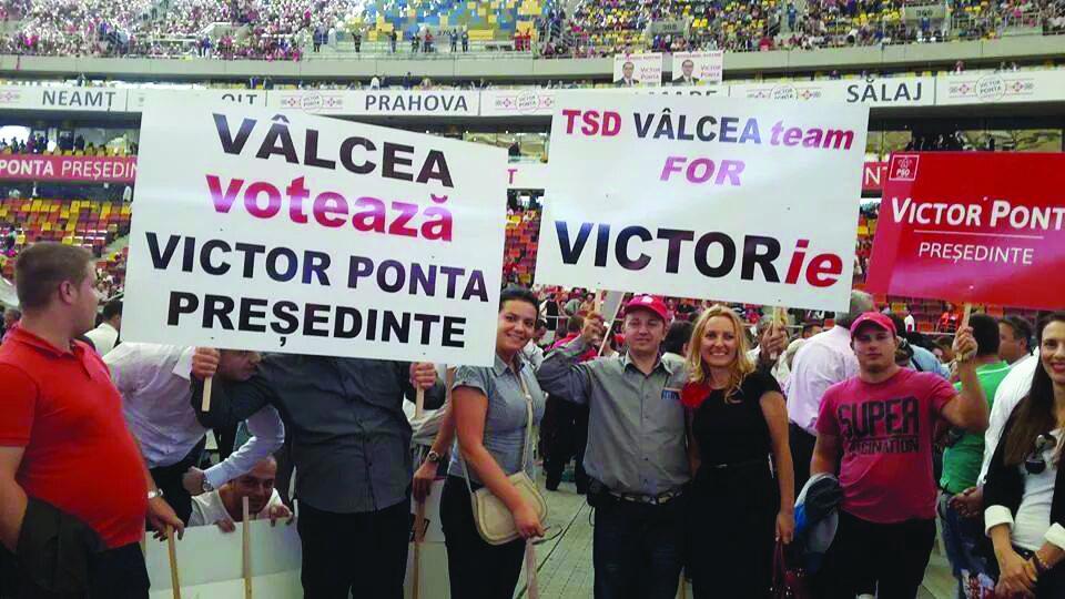 PSD Valcea lansare Ponta