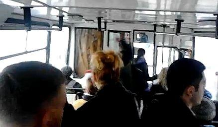 autobuz interior