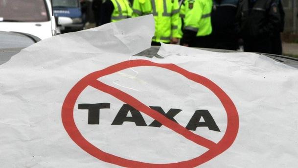 SOFERI - PROTEST - TAXA AUTO
