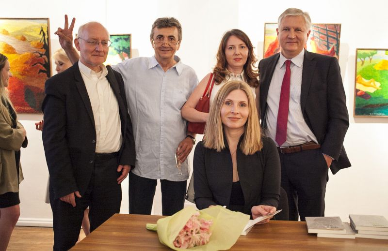 Silviu Popescu lansare carte Paris