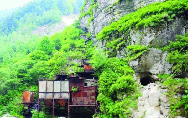 Ce s-a ales de minele deschise de nemţi în Voineasa