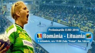 handbal Romania Lituania