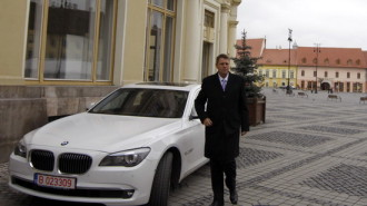 Klaus-Johannis-masina-Piata-mare-Sibiu