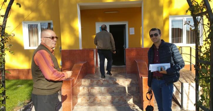 În primăvară, în comuna Stoeneşti, primarul Gheorghe Dumbravă va redeschide şantierele