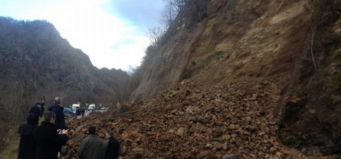 Valea Oltului blocata