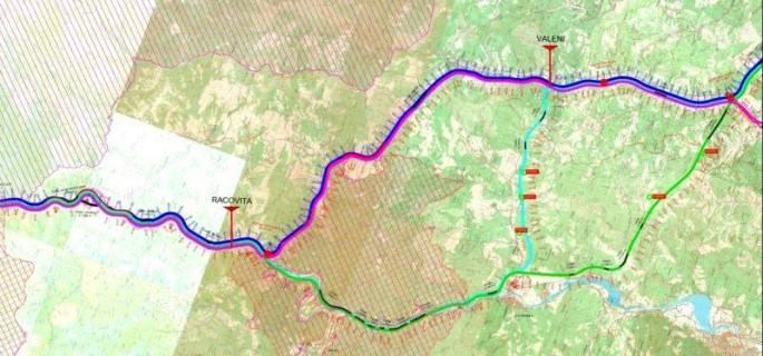 autostrada Pitesti Sibiu varianta verde