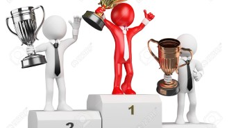15327876-3d-white-business-person-on-the-the-podium-with-trophies-3d-image-Isolated-white-background-Business-Stock-Photo