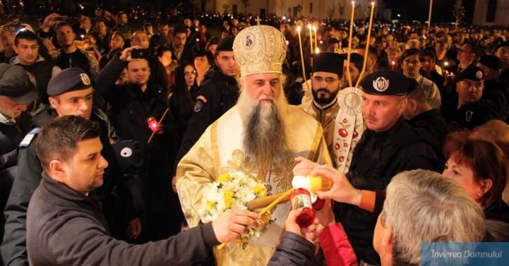 Învierea Domnului la Catedrala Arhiepiscopală din Râmnicu-Vâlcea