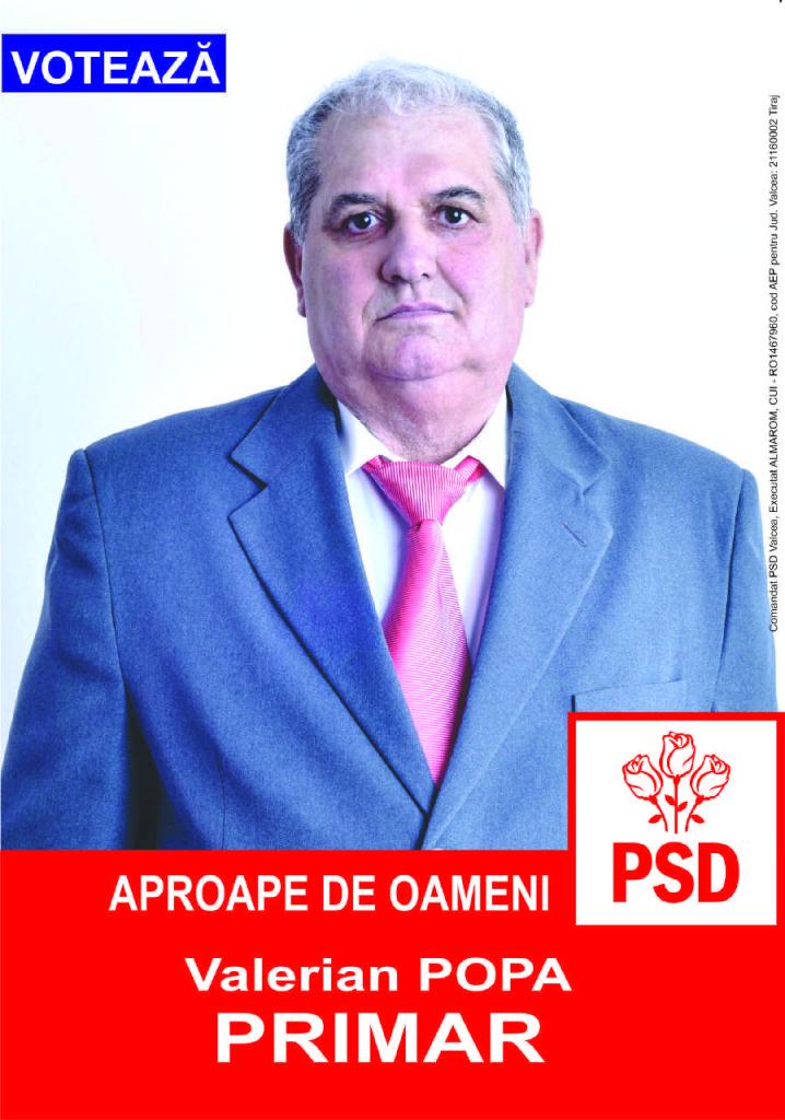 Valerian Popa PSD Boisoara