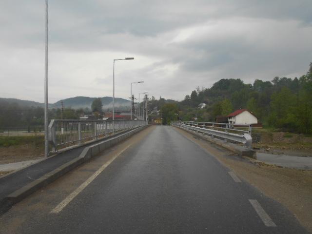 construire pod nou in satul Valeni