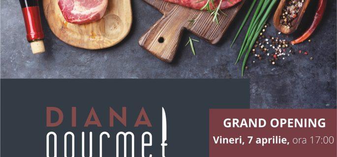 Anunt public Inaugurare DIANA gourmet (1)