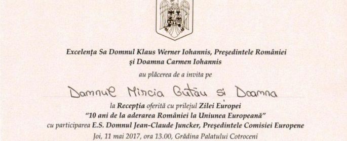 invitatie Cotroceni