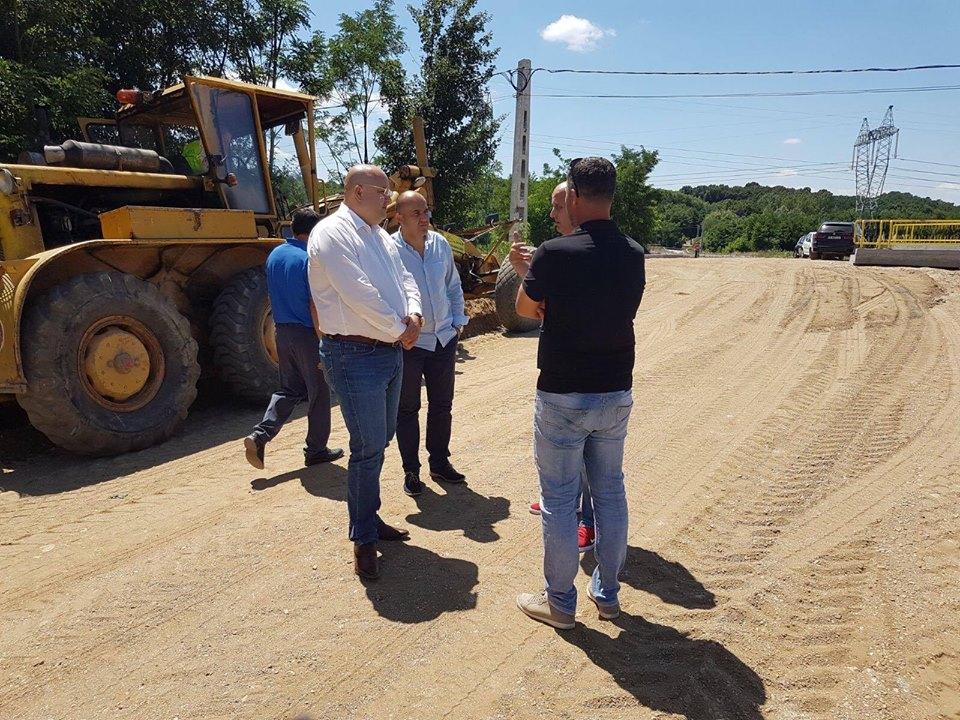 Constantin Radulescu teren lucrari