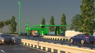 randare proiect statii CNG Romania