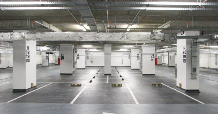Se deschide primul nivel al parcării subterane din zona centrală a Râmnicului Vâlcea