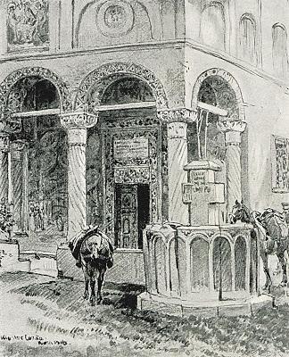 1916_-_Albert_Reich_-_Valcea,_Manastirea_Cozia_p37