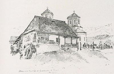 1916_-_Albert_Reich_-_Valea_Oltului,_biserica_din_Greblesti_p25