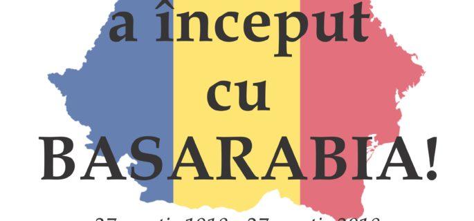 afis Basarabia-27 martie