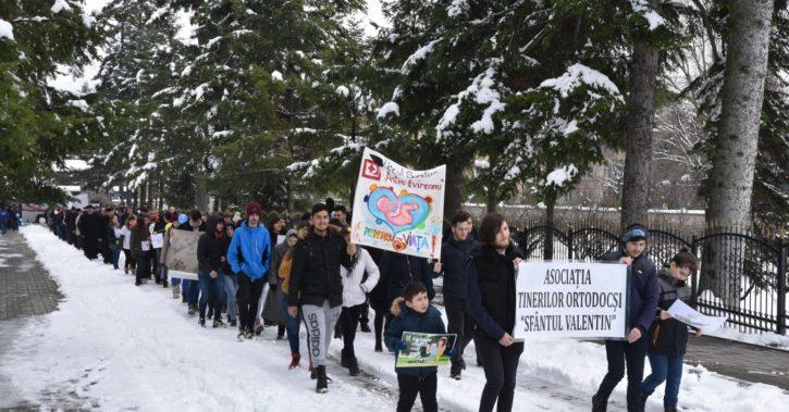 MARȘ PENTRU VIAȚĂ al tinerilor valceni!