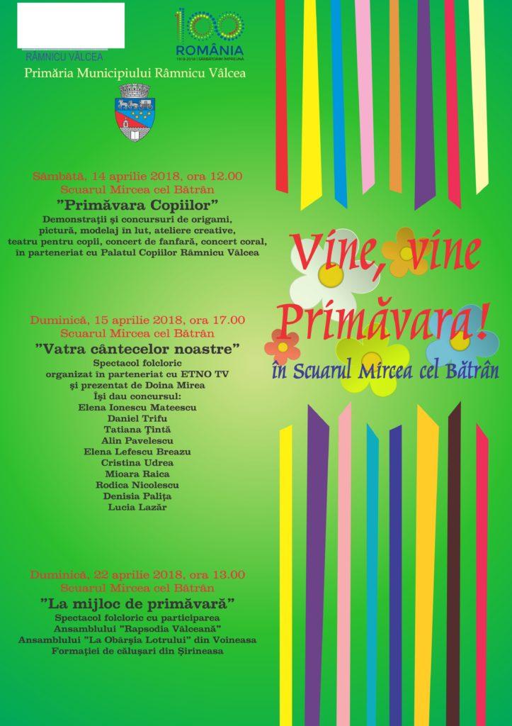 afis - vine, vine primavara (1)