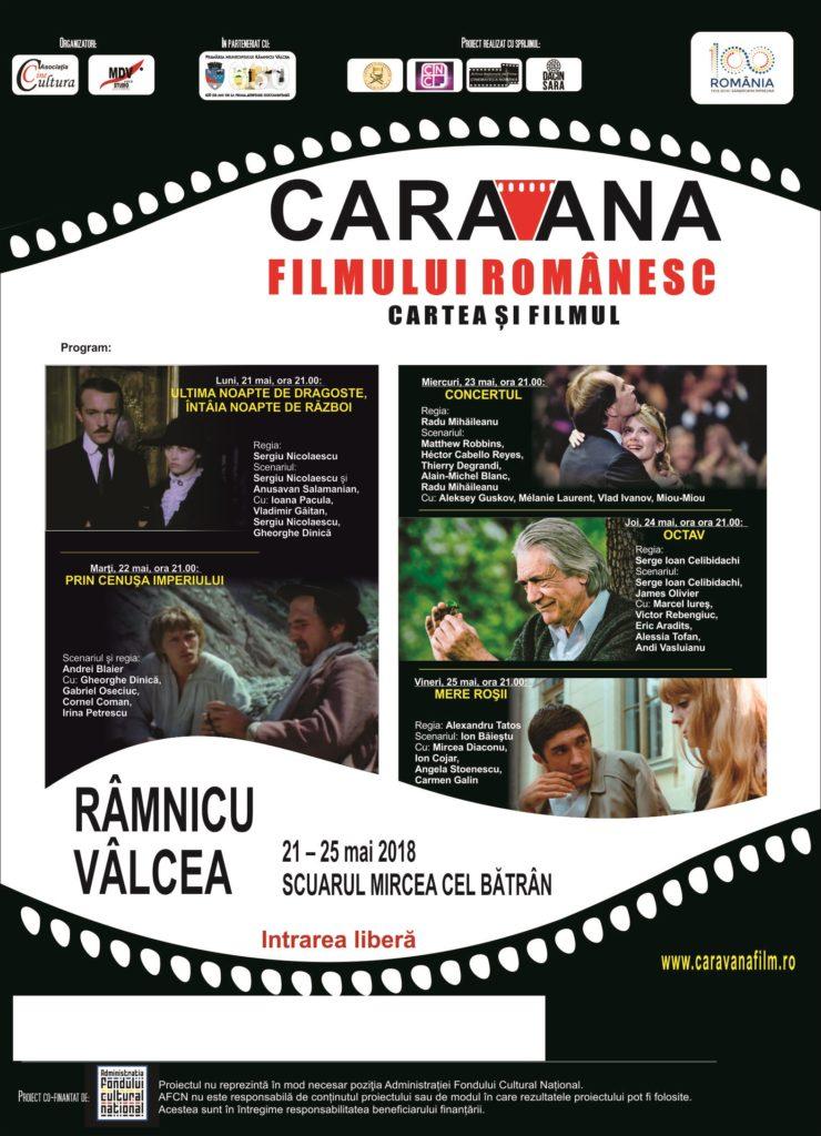 Afis Caravana la Ramnicu Valcea 2018