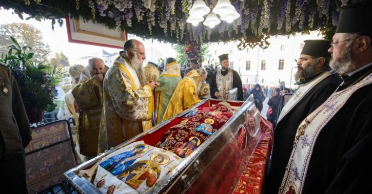 Înaltpreasfințitul Părinte Varsanufie a participat la Sărbătoarea Sfintei Cuvioase Parascheva la Iași
