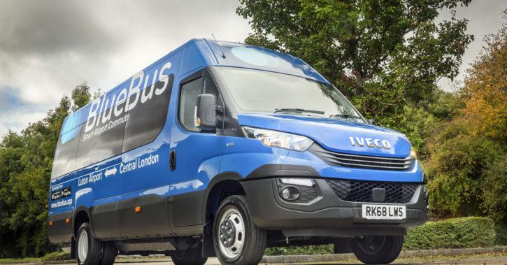 Blue Bus Innovations din Marea Britanie, prima companie care a ales microbuze compacte cu CNG