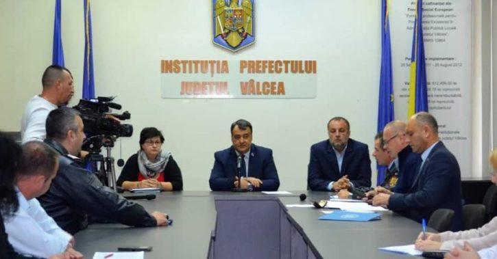 Prefectul Florian Marin: In judetul Valcea nu exista cazuri de pesta porcina!