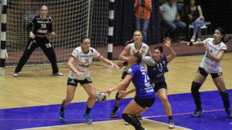 Meciul de handbal feminin dintre CSM Bucuresti si SCM Ramnicu Valcea din Supercupa Romaniei, disputat la Sala Polivalenta din Bucuresti, sambata, 25 august 2018. ALEXANDRA PANDREA / MEDIAFAX FOTO