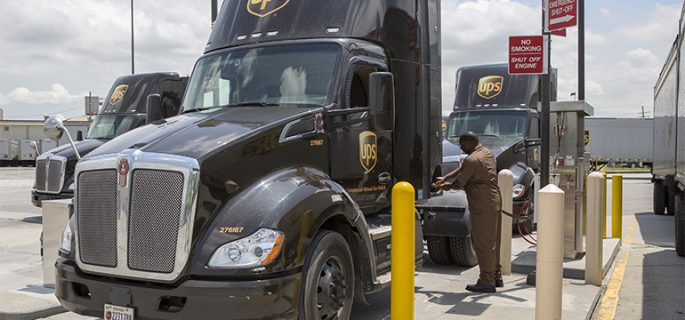 UPS-CNG-refuelling-station