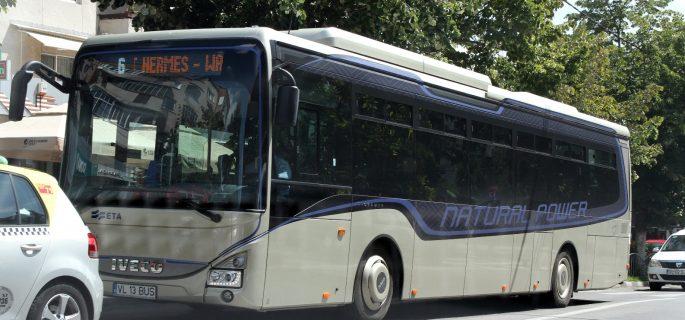 autobuz Iveco GNC