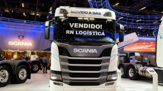 Camioane CNG Scania