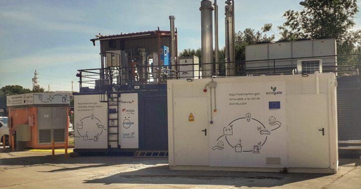 ECO-GATE începe testele de injecție și distribuția de gaze regenerabile în rețeaua Nedgia