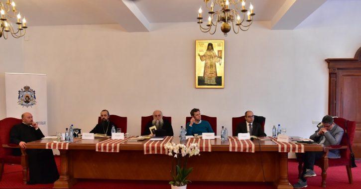 """Simpozionul național """"Lucrarea cultural-duhovnicească și social-misionară a episcopului Vartolomeu Stănescu"""""""
