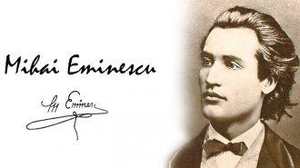 Mihai-eminescu-portret-cu-semnatura
