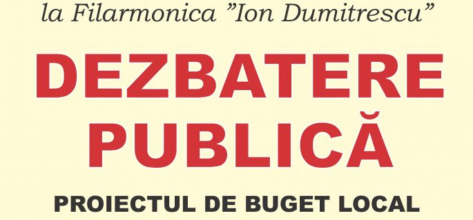 afis dezbatere publica buget local