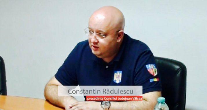 Constantin Radulescu: CJ Valcea, alaturi de personalul medical din judet