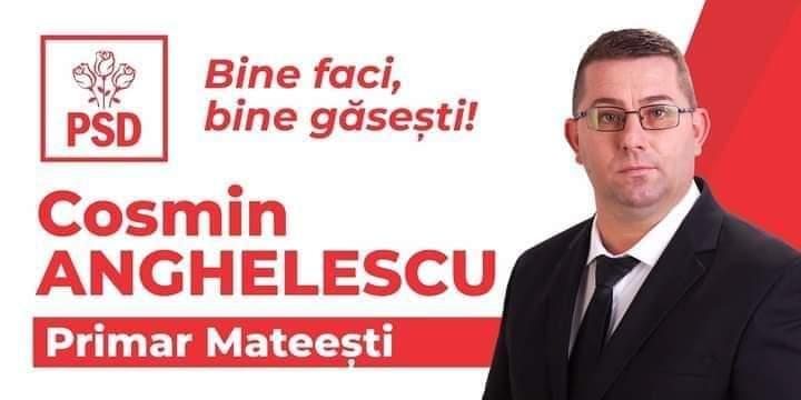 Cosmin Anghelescu, un tânăr cu o energie deosebită și bine pregătit, candidatul PSD la Primaria Mateesti