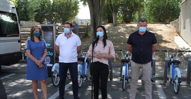 Primăria municipiului a lansat în premieră la Râmnicu Vâlcea un sistem de bike-sharing