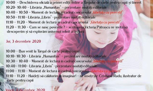 """Biblioteca Județeană """"Antim Ivireanul"""" Vâlcea: Ediție online a Târgului de Carte pentru Copii și Tineret"""