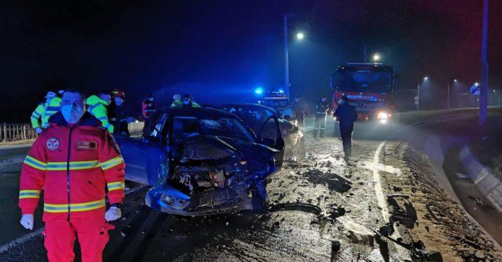 Accident cu cinci victime în Mihăești