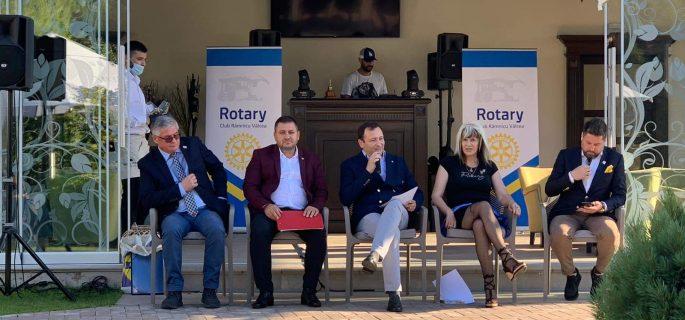 Marian Mitră: CLUBUL ROTARY Râmnicu Vâlcea a achizițonat pentru Spitalul Urgență Vâlcea-secția Boli Infecțioase dispozitive de dezinfecție cu UV-C