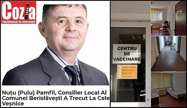 Un consilier local din Vâlcea a murit de infarct miocardic la câteva zile după injectarea cu vaccinul anti-Covid19 AstraZeneca al companiei anglo-suedeze