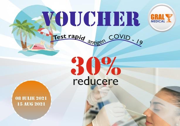 Voucher Gral test rapid COVID19
