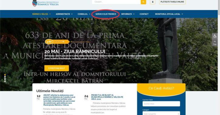Primăria Râmnicului face paşi importanţi în reducerea birocraţiei: servicii on-line pe pagina de internet www.primariavl.ro, prin aplicaţie mobilă sau terminal self-service în pasajul Cozia
