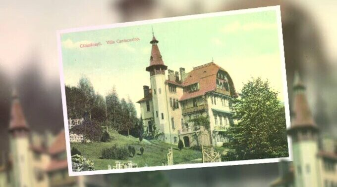 Omul de afaceri Stefan Statica vrea sa transforme Castelul Cantacuzino din Călimănești in restaurant-muzeu